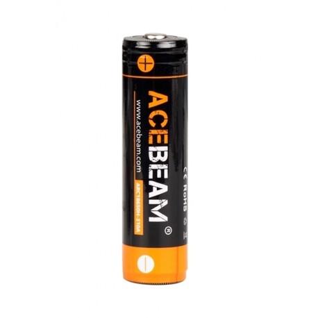Batterie Li-Ion 18650 Acebeam 3100 mAh haute intensité 20A