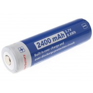 Batterie Li-ion 18650 Niteye Jetbeam 2400mAh rechargeable
