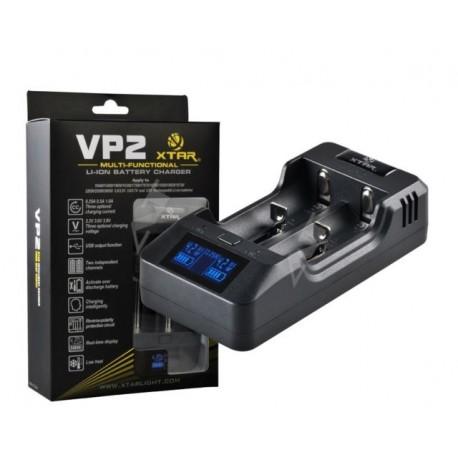 Xtar VP2 - Chargeur intelligent 2 batteries Li-ion