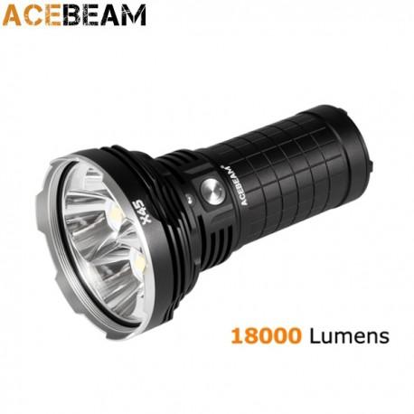 ACEBEAM X45 Lampe torche rechargeable surpuissante 18000 lumens