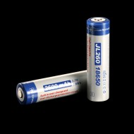Batterie Li-ion 18650 Niteye Jetbeam 2600 mAh rechargeable