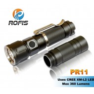 Lampe torche puissante Rofis PR11 - 360 lumens