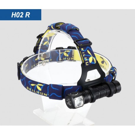 Skilhunt H02 R Lampe Frontale puissante 860 lumens