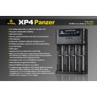Xtar XP4 - Chargeur intelligent 4 batteries Li-ion / Ni-MH