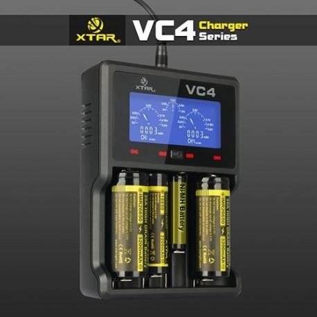 Xtar VC4 - Chargeur intelligent 4 batteries Li-ion / Ni-MH