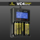 Xtar VC4 - Chargeur intelligent 4 batteries Li-ion / Ni-MH