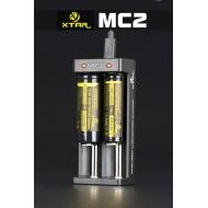 Chargeur 2 batteries 18650 XTAR MC2