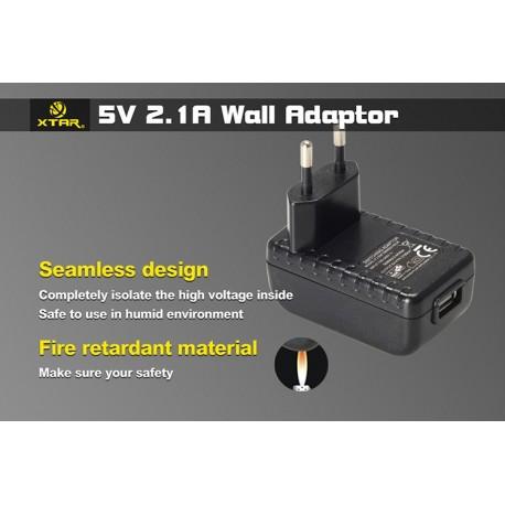 Adaptateur secteur USB 2.1A