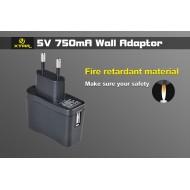 Adaptateur USB secteur pour chargeur Xtar MC1