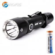 Lampe torche tactique rechargeable Rofis KR20 - 1100 lumens