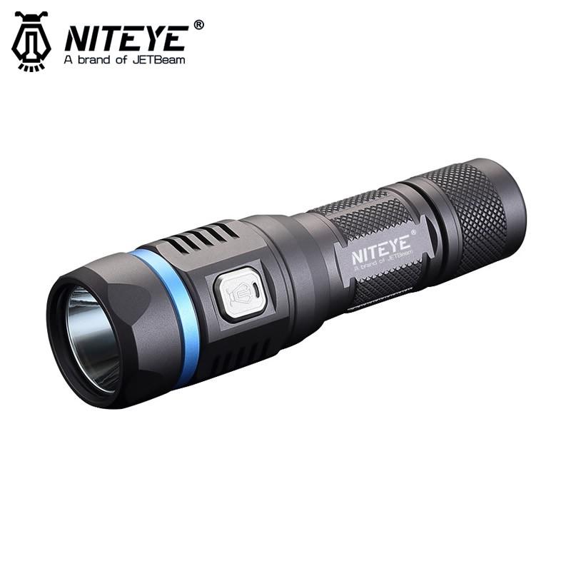 C8 Lumens Torche Lampe Niteye 1200 Rechargeable Pro cKlF1J